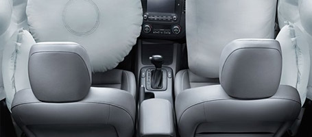 Dual Front Seat-Mounted Side Airbags