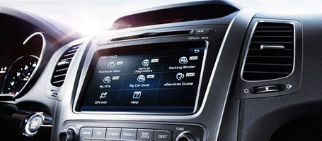 UVO eServices Infotainment System